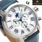 ハンティングワールド ランドスケープ 43mm メンズ 腕時計 HW930NV