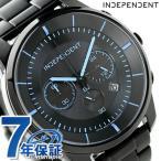 24日までエントリーで最大30倍 インディペンデント タイムレスライン クロノグラフ ソーラー KF5-144-51 腕時計