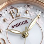シチズン ウィッカ 電波ソーラー ハッピーダイアリー 花柄 KL0-669-15 CITIZEN 腕時計