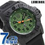 ポイント最大10倍 ルミノックス ネイビーシールズ 3500 メンズ 腕時計 3517.NQ.SET LUMINOX グリーン×ブラック