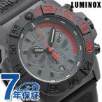 ルミノックス 3580シリーズ ネイビーシールズ クロノグラフ 45mm 3581.EY LUMINOX 腕時計 ブラック×レッド