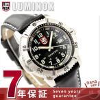 ルミノックス LUMINOX ネイビー シールズ カラーマークシリーズ 腕時計 レディース レザーベルト ブラック 7251