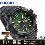 カシオ チプカシ クロノグラフ 10気圧防水 メンズ MCW-100H-3AVCF 腕時計