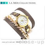 25日ならポイント最大25倍 ラメール コレクション レディース 腕時計 MILANACAP3404 LA MER