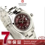 22日までエントリーで最大28倍 スイスミリタリー SWISS MILITALY レディース 腕時計 ELEGANT PREMIUM ワインレッド ML310