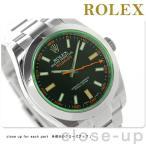 9日からエントリーで最大25倍 ロレックス オイスター パーぺチュアル ミルガウス 116400 腕時計