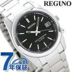 シチズン レグノ ソーラー 電波 腕時計 メンズ ブラック RS25-0483H