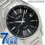 セイコー ドルチェ 電波ソーラー メンズ 腕時計 SADZ187 SEIKO