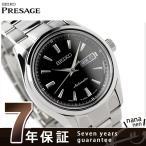 セイコー メンズ 腕時計 メカニカル プレザージュ SARY057 SEIKO Mechanical ブラック