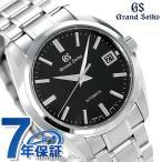 先着3,000円割引クーポンが使える! グランドセイコー 9Sメカニカル 40mm 自動巻き メンズ 腕時計 SBGR317 GRAND SEIKO ブラック