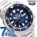 15日限定さらに+9倍でポイント最大30倍! セイコー 5スポーツ 日本製 自動巻き 流通限定モデル メンズ 腕時計 SBSA001 Seiko 5 Sports スポーツ ネイビー