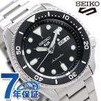 15日限定さらに+9倍でポイント最大30倍! セイコー 5スポーツ 日本製 自動巻き 流通限定モデル メンズ 腕時計 SBSA005 Seiko 5 Sports スポーツ ブラック