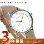 今ならクーポン利用で1000円OFF スカーゲン ア二タ 30mm クオーツ レディース 腕時計 SKW2648 SKAGEN シルバー