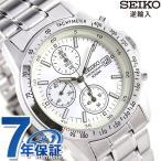 セイコー クロノグラフ 逆輸入 海外モデル SND363P1 (SND363PC) メンズ 腕時計