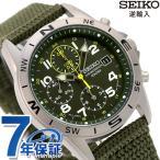 セイコー クロノグラフ 逆輸入 海外モデル SND377P2 (SND377R) メンズ 腕時計