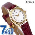 セイコー スピリット クオーツ レディース 腕時計 SSDA006 SEIKO SPIRIT ホワイト×レッド 赤 時計