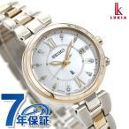 セイコー ルキア チタン 限定モデル レディダイヤ レディゴールド SSQV060 SEIKO LUKIA レディース 腕時計