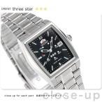 オリエント 逆輸入 海外モデル スリースター 自動巻き URL033NQ 腕時計
