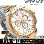 ヴェルサーチ ミスティック スポーツ 46mm クロノグラフ VFG130015 腕時計