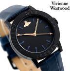 ヴィヴィアン ウエストウッド 時計 34mm クオーツ レディース VV213BKBL Vivienne Westwood ブラック×ネイビー