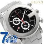 GUCCI グッチ 時計 G-クロノ メンズ ブラック YA101309
