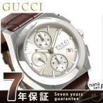 9日からエントリーで最大25倍 グッチ パンテオン 自動巻き クロノグラフ スイス製 YA115208 腕時計