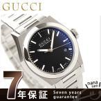 GUCCI - GUCCI グッチ 時計 パンテオン メンズ ブラック YA115423