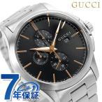 ショッピングサボイ 22日までエントリーで最大21倍 GUCCI グッチ 時計 Gタイムレス 46mm クロノグラフ メンズ YA126272