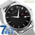GUCCI - 24日までエントリーで最大30倍 GUCCI グッチ 時計 Gタイムレス スリム メンズ YA126308
