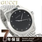 ショッピングサボイ 22日までエントリーで最大21倍 GUCCI グッチ 時計 Gタイムレス 40mm ダイヤモンド メンズ YA126405