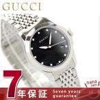 GUCCI グッチ 時計 Gタイムレス レディース ブラック YA126505