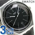 スウォッチ SWATCH アイロニー ビッグ メンズ 腕時計 YWS400 ブラック×ダークブラウン