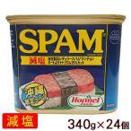 スパムSPAM 減塩 340g×24個( 1ケース) │沖縄ホーメル ポークランチョンミート│