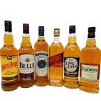 スコッチウイスキー飲み比べ限定6本セット ホワイトホース、ベル、クレイモア、ジョニ赤、ロングジョン、ティーチャーズ ※【送料無料】