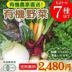 旬のこだわり有機野菜おまかせ7種セット!送料無料!