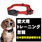 首輪 愛犬 トレーニング しつけ 無駄吠え 安心 自動電流レベル調整 電池付属 日本語取扱説明書付 米国 輸入品 コンパクト