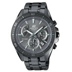 カシオ 腕時計 Casio Edifice エディフィス EFR-552GY-8A Retrograde クロノグラフ Stainless Steel メンズ Watch