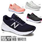 ニューバランス レディース 靴 スニーカー ランニング シューズ New Balance NB W411 黒 ブラック 紺色 ネイビー ピンク グレー 灰色 軽量