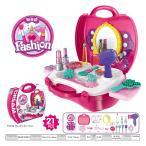 おもちゃ の ままごと セット 女の子 用 なりきり お化粧 道具 メイクボックスセット