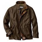 メンズ レザージャケット Orvis Denver Leather Jacket 海外直輸入品
