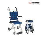介助式車椅子  折りたたみ コンパクト  背固定 車いす のっぴープラス NP-001NC