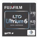 富士フイルム LTO Ultrium6カートリッジテープ 5巻パック LTO FB UL-6 2.5T JX5 目安在庫=△