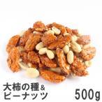 大柿の種&ピーナッツ 500g 南風堂 徳用大袋 大ぶり柿の種とバターピーのミックス