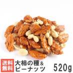 大柿の種&ピーナッツ 520g 送料無料おためしメール便 南風堂 大ぶり柿の種とバターピーのミックス