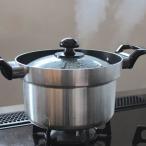 炊飯鍋 3合炊き 水位目盛り付 フッ素加工 ガスコンロ用