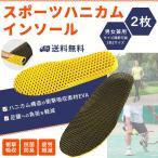 ハニカム スポーツ インソール 軽量 中敷き 衝撃吸収 底の薄い靴 ウォーキング 立ち仕事