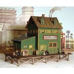 バーミルズ  HOスケール レーザーカット ストラクチャー組み立てキット 「Waterfront Willys」