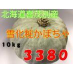 元年産 かぼちゃ 北海道喜茂別産 雪化粧 10kg!
