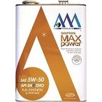 AAA エンジンオイル  MAX power 5W-50 4L(4リットル)