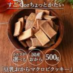 おからクッキー マクロビ 豆乳おからクッキー プレーン 500g チャック付き メール便A  TSG